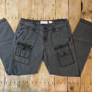 Hei -Hei Gray Cargo Skinny Pants size 28